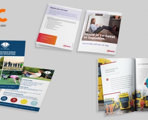 Flyer, folder of brochure