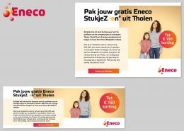 Advertentie Eneco StukjeZon Tholen