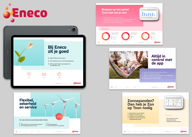Tablet presentaties Eneco