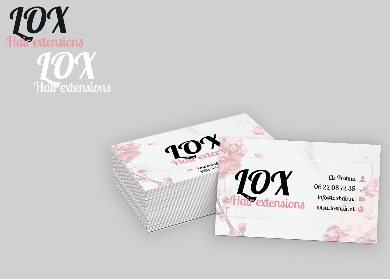 Logo & visitekaartje LOX