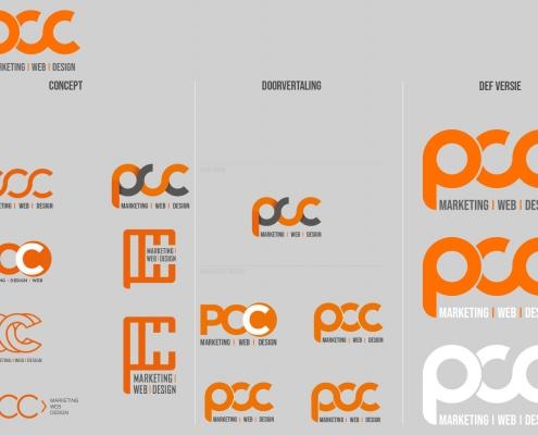 Logo ontwikkeling PCC