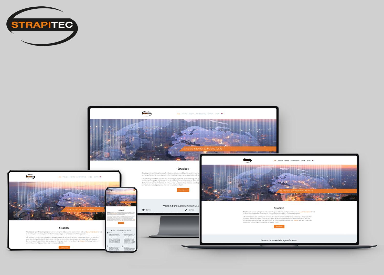 Website ontwikkelen Strapitec