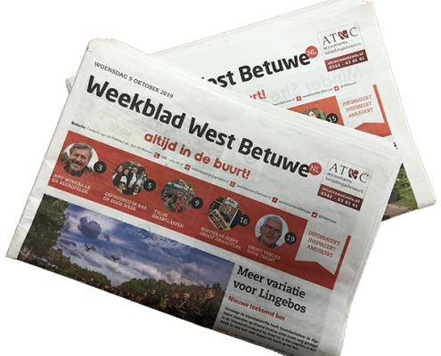 Adverteren in krant
